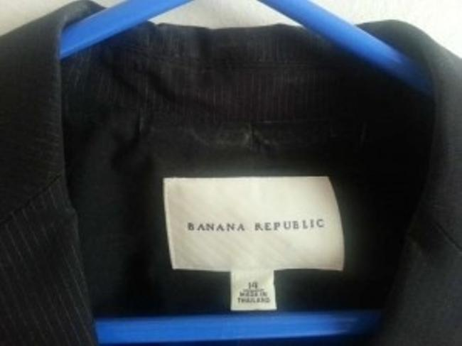 Banana Republic Black Stripe Blazer