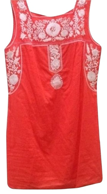 Item - Poppy Red Amira Dress Swimsuit Small Cover-up/Sarong Size 4 (S)