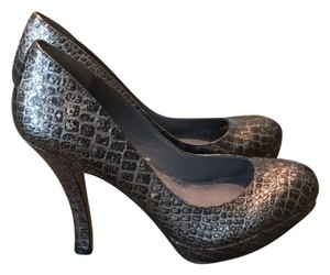 Rosegold Shoes Dark silver/black Platforms