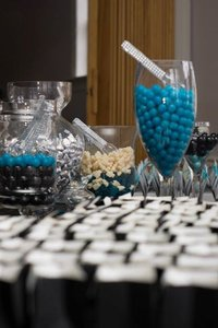 Glassware For Candy Bar
