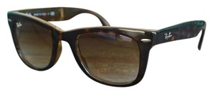 Ray-Ban Ray-Ban RB4105 Folding Wayfarer Sunglasses