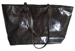Fendi Tote in Black and gray