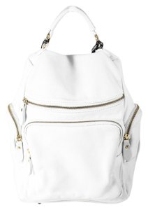 Laura Leigh Ltd. Di Maggio Leater Goldtone Hardware Backpack