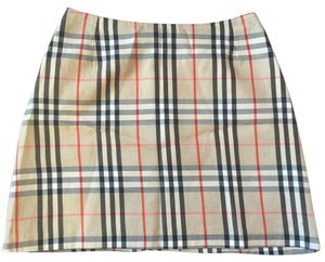 Burberry London Mini Skirt Multi