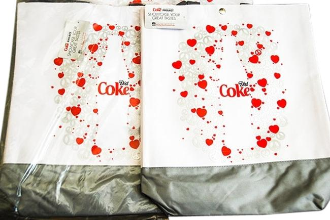 Item - (2) Diet Brand New with Tags White Canvas Tote