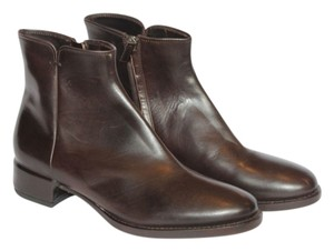 Roberto Del Carlo Brown Leather Boots