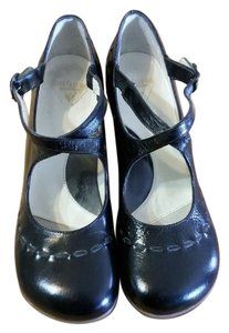 John Fluevog Leather black Pumps