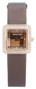 Audemars Piguet Audemars Piguet 77215OR.ZZ.A080SU.01 Brown Dial Rose Gold Diamond Manual winding Ladies Watch