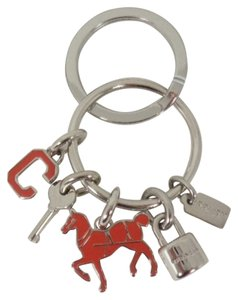 Coach Coach F65167 Red Horse, Lock, Key,