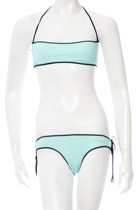 Chloé Turquoise blue Chloe solid bikini set New 6 S Small