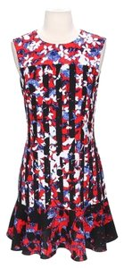 Peter Pilotto for Target short dress Multi Floral Geometric Party Garden on Tradesy