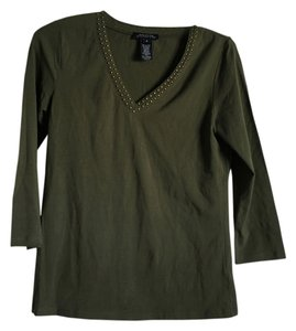 Jones New York T Shirt Olive