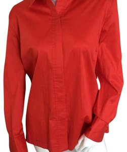 Difference Button Down Shirt Red