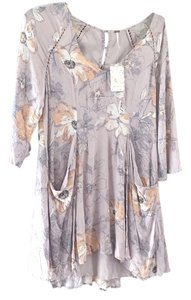 Free People short dress Stone combo on Tradesy