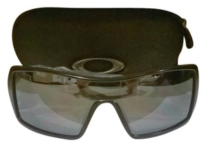 Oakley OAKLEY Sunglasses, OIL RIG 03-464 Black/Black