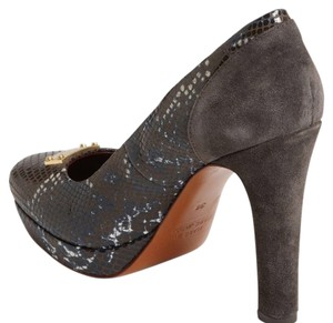 Marc by Marc Jacobs Gray, snake print Platforms