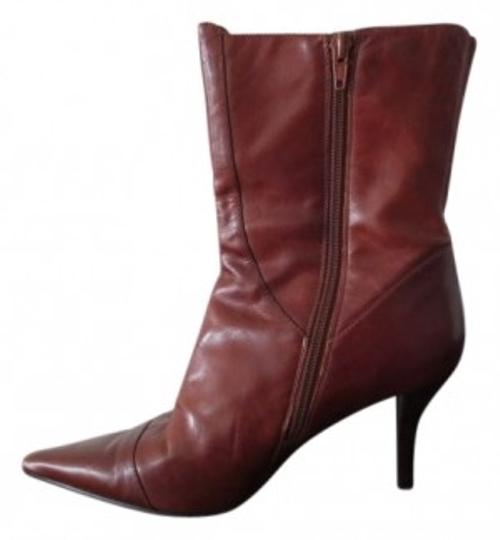 Preload https://item3.tradesy.com/images/nine-west-brown-leather-bootsbooties-size-us-85-regular-m-b-13167-0-0.jpg?width=440&height=440