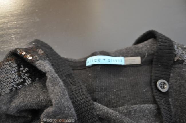 Alice + Olivia Sequin Knit Sweater