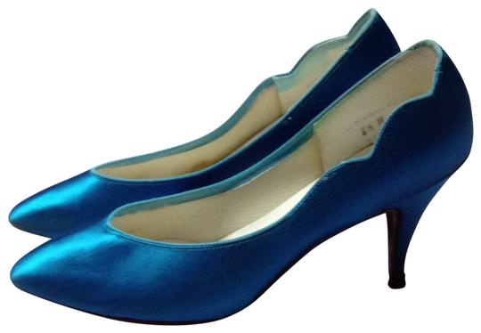 Preload https://item3.tradesy.com/images/peacock-blue-satin-dyed-formal-shoes-size-us-85-131672-0-0.jpg?width=440&height=440