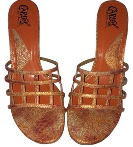 Carlos by Carlos Santana Citris Orange Sandals