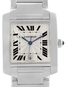 Cartier Cartier Tank Francaise Automatic Silver Dial Date Watch W51002Q3