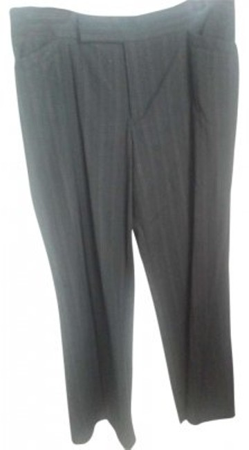 Nine West Trouser Pants Black, Pink Striped