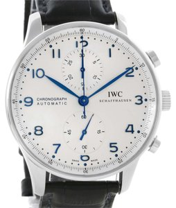 IWC IWC Portuguese Chrono Automatic Steel Mens Watch IW371417
