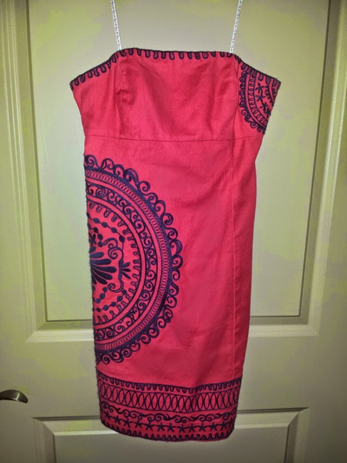 Lilly Pulitzer short dress Pink Beach Cute Strapless on Tradesy