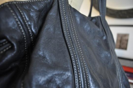 DKNY Leather Classic Shoulder Bag