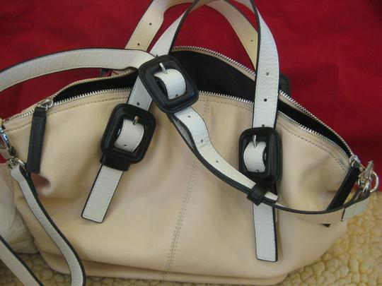 Charles Jourdan Satchel in Blush
