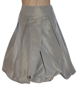 Pauw Amsterdam Bubble Pleated Skirt SAGE