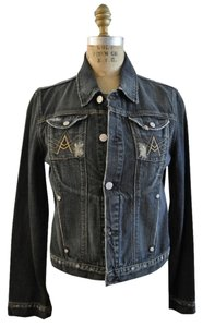 7 For All Mankind Classic A Denim Womens Jean Jacket