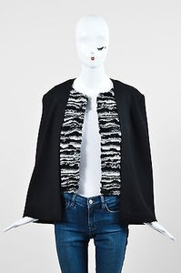 Twilley Gray Woven Knit Cape