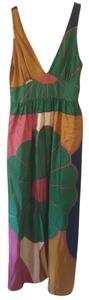 Pink, Gold, Green, Blue, White Maxi Dress by Tibi