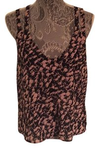 Millau Top Printer Black and Pink