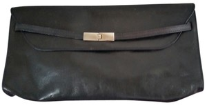 Furla Leather Black Clutch