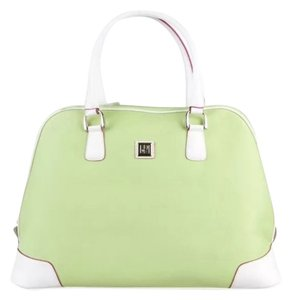 Diane von Furstenberg Lime Green Travel Bag