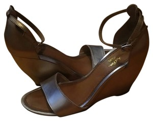 Seychelles Gold and Silver Sandals