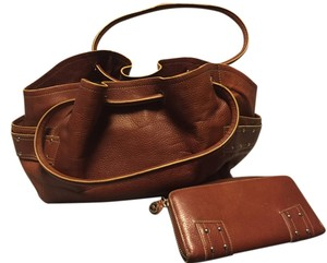 Cole Haan Tote in Saddle Brown