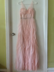Adrianna Papell Light Pink Bridesmaid Dress