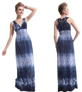 Blue Maxi Dress by Ever-Pretty