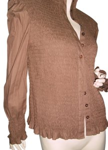 Max Studio Button Down Shirt brown