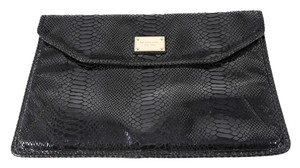 Michael Kors Laptop Sleeve Python-embossed Flap Over Laptop Bag