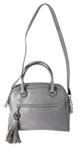 Michael Kors Knox Tassel Satchel in Gray