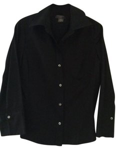 Banana Republic Classic Button Down Shirt Black