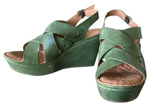 Børn Cataleen Green Wedges
