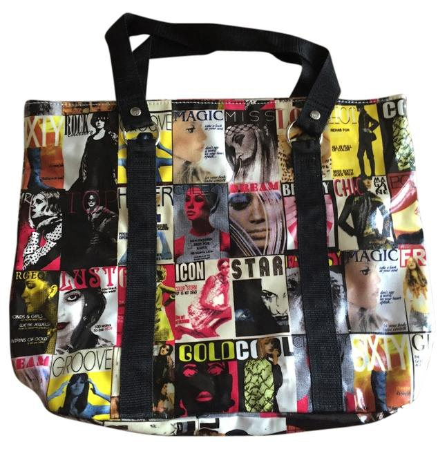 Item - Bag Hard To Find Vintage Big Big Multi Colored Tote