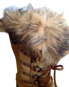 Sorel Biege Size 7 Beige Suade and leather Boots
