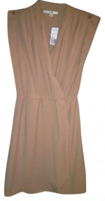 Preload https://item3.tradesy.com/images/forever-21-taupe-knee-length-workoffice-dress-size-8-m-131737-0-0.jpg?width=400&height=650
