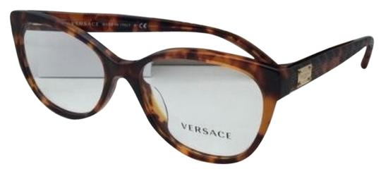 Clear Frame Versace Glasses : Versace New VERSACE Eyeglasses VE 3193-A 5074 54-16 140 ...
